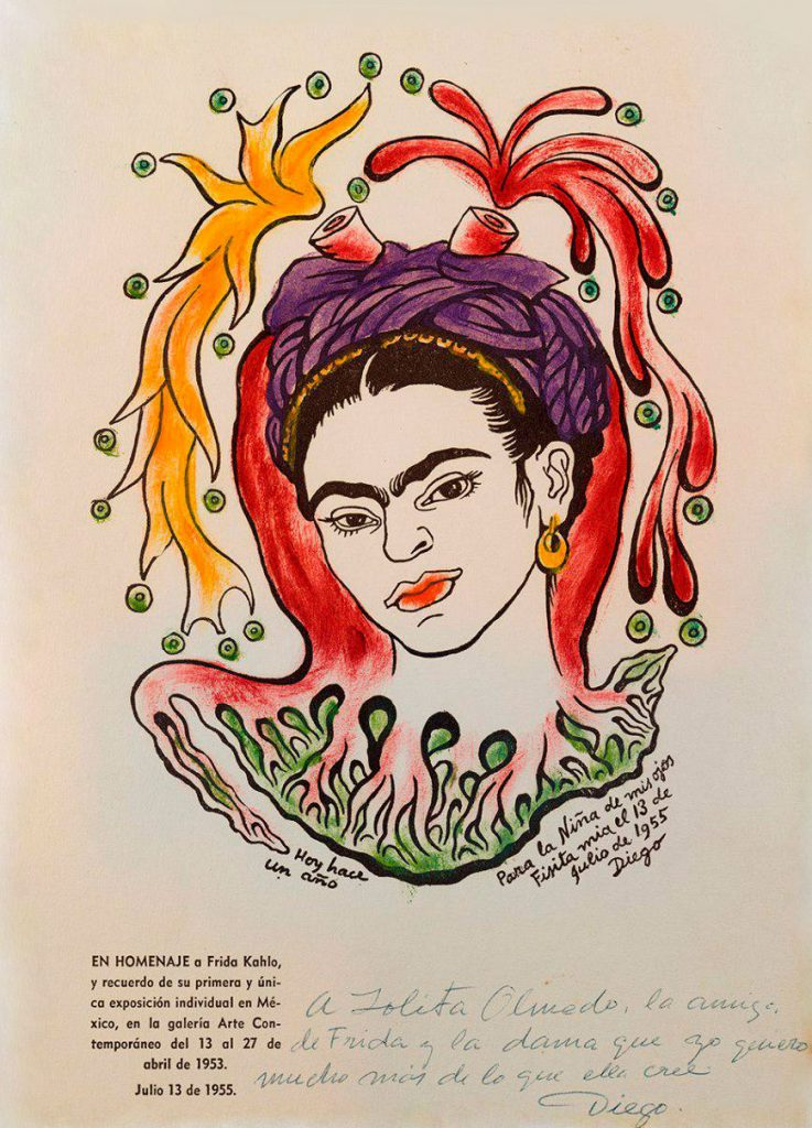 """Portrait of Frida Kahlo"