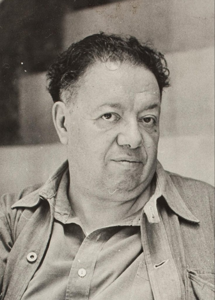 Diego Rivera was a Mexican muralist