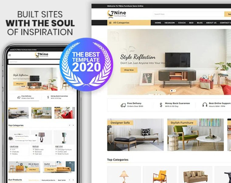 7nine - Furniture and Interior Shopify theme by Webheay