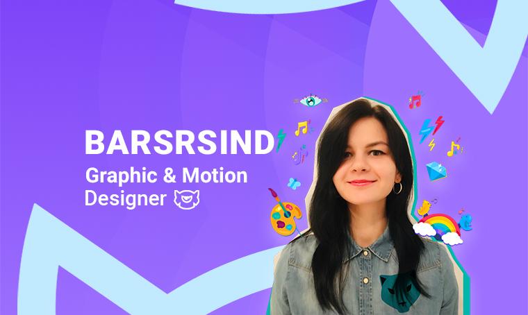 Barsrsind - Graphic and Motion Designer On TemplateMonster