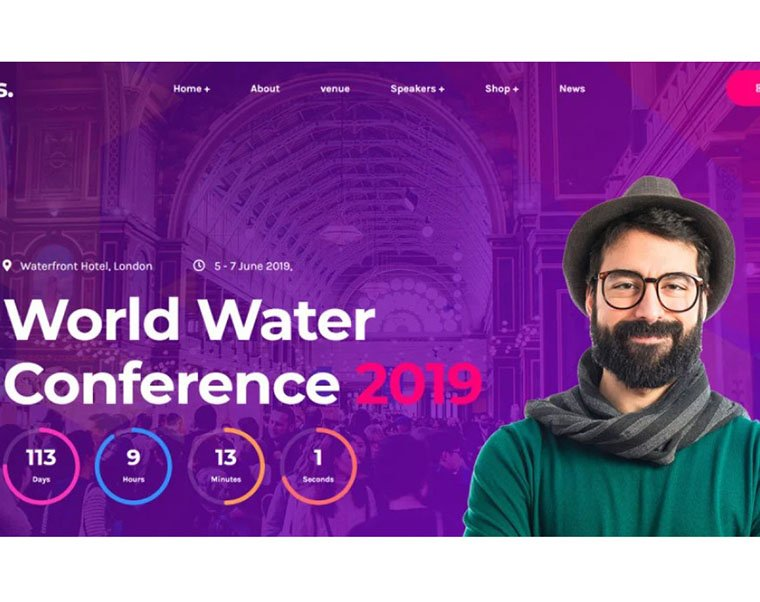 Eventes - Conference WordPress Theme by Zcube