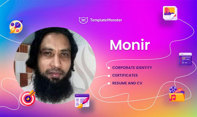 Monir - Graphic Designer
