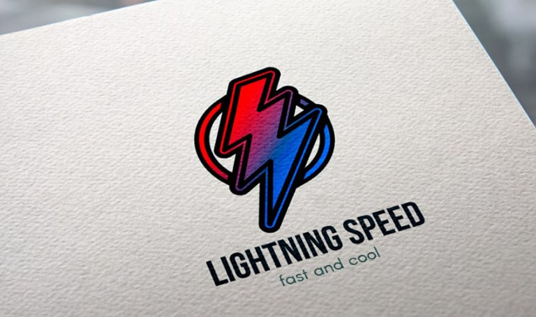 Fast speed logo template by Barsrsind