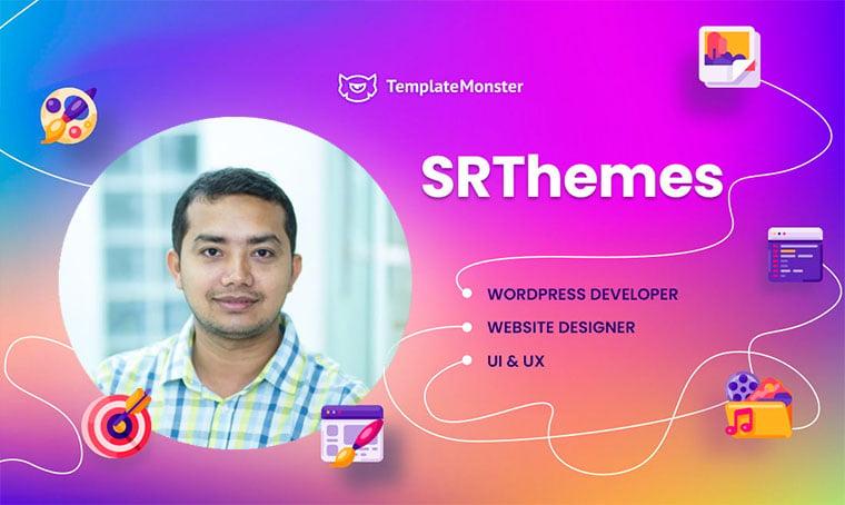 Srthemes TemplateMonster Author