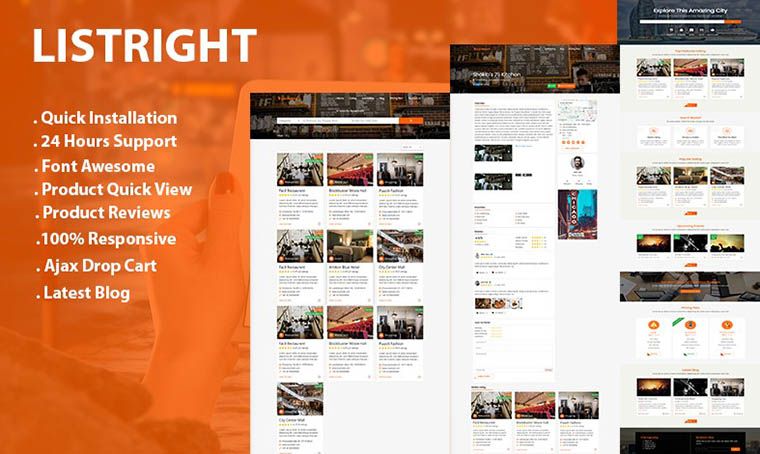 Listright - HTML5 Directory Listing by Bitspeck