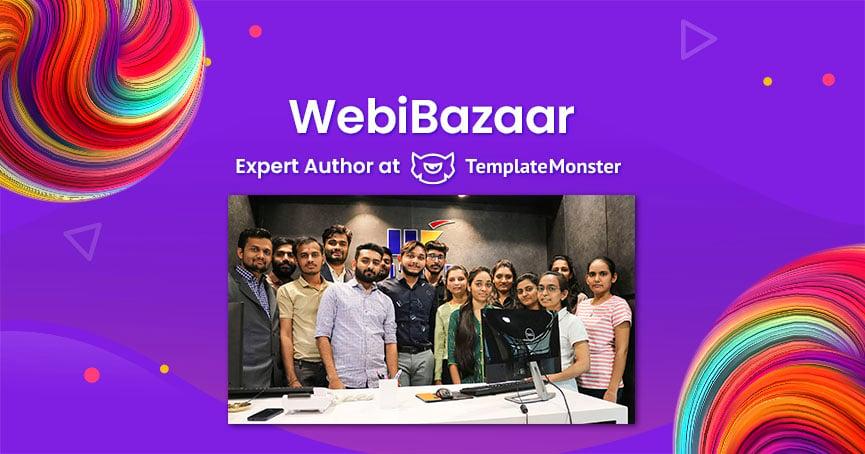 WebiBazaar TemplateMonster Author