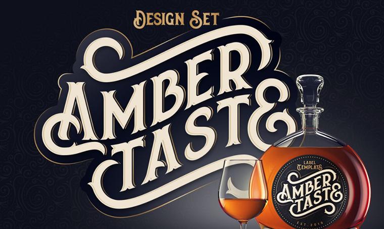 Amber Taste font by Gleb Guralnyk